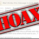 Hoax, correos basura en cadena