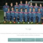 Web del Milladoiro S.D (Liga de futbol base)