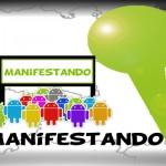 App móvil para Android de Manifestando