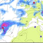 ¡Aviso importante!: Un ciclón extratropical se acerca a la Península